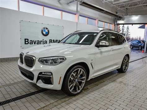 New 2018 BMW X3 M40i Crossover in Edmonton #18X34308
