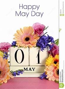 Happy May Day 1 May Card
