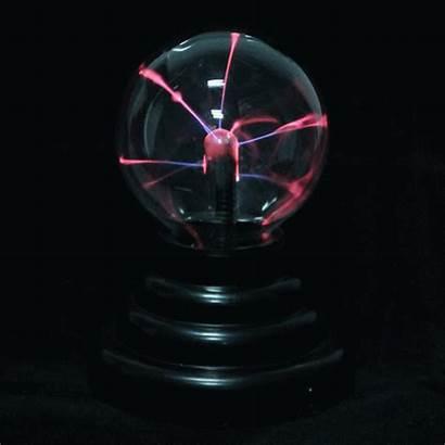 Plasma Ball Lightning Sphere Lamp Glass Base