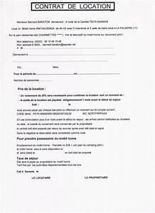 Modele Contrat De Location Pour Meuble Document Online