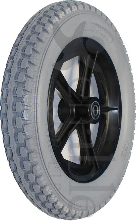 12 1/2 x 2 1/4 in. 5 Spoke Mag Wheelchair Wheel Assembly - pr