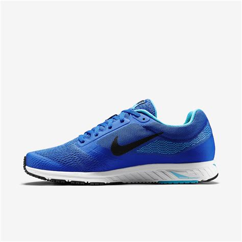 nike mens air zoom fly  running shoes blue tennisnutscom