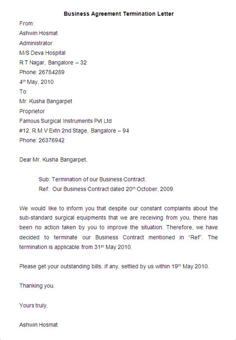 daycare termination letter sle  images child care