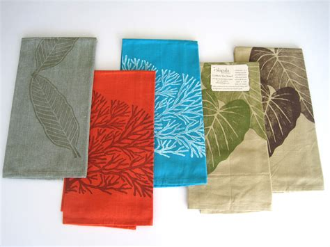 Cotton Tea Towels  Palapala Designs