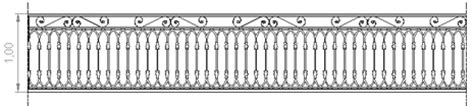 ringhiera in ferro dwg ringhiere in ferro battuto 4
