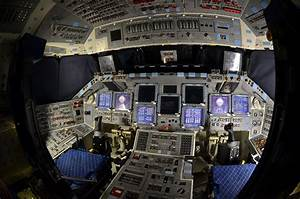 Inside Space Shuttle Cockpit - Pics about space