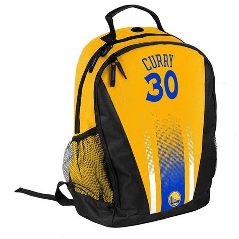stephen steph curry  warriors jersey backpack gym book
