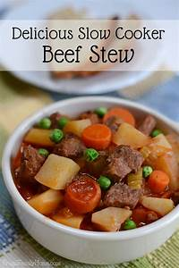 Simple and Delicious Slow Cooker Beef Stew