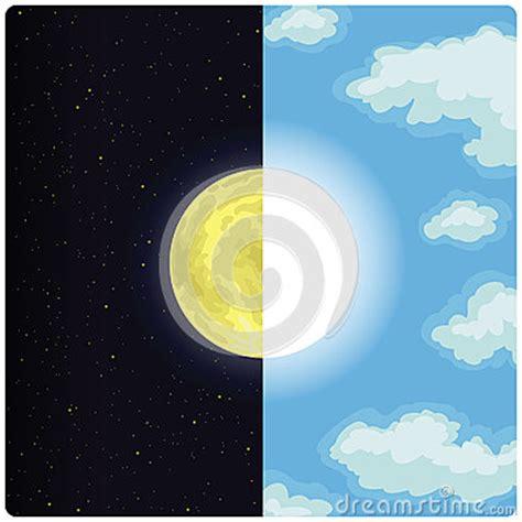 sun moon royalty  stock photo image