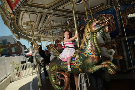 carousel  national harbor family activities  dc