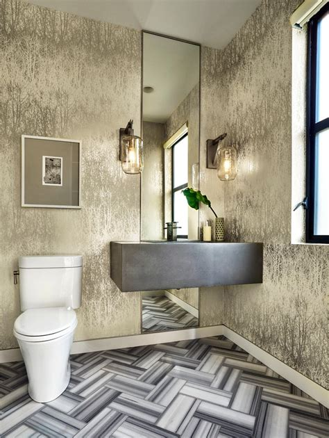 modern powder room ideas powder room modern with