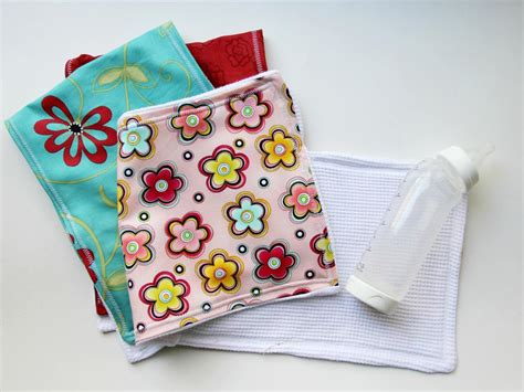 shabby fabrics burp cloth easy sewing project how to make a baby burp cloth how tos diy