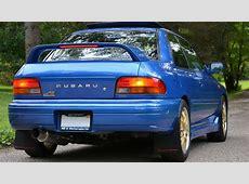1998 Subaru Impreza 25RS Megan Racing Catback with