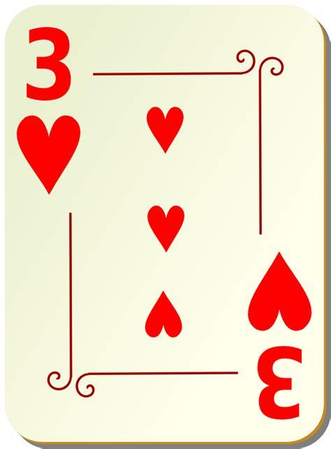 onlinelabels clip art ornamental deck   hearts