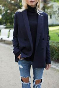 25+ best ideas about Navy Blazer Outfits on Pinterest | Blazer outfits Navy blue blazer and ...