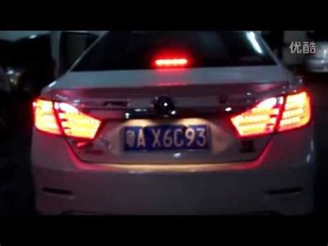 2012 2013 toyota camry led lights bmw style