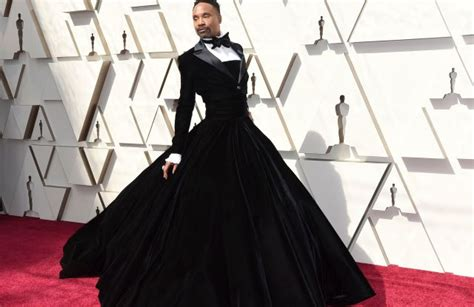 Billy Porter Wears Christian Siriano Tuxedo Gown The