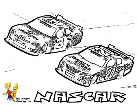full force race car coloring pages  nascar mandala