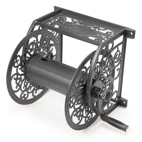hose reel decorative iron