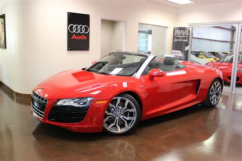 convertible audi red used 2012 audi r8 brilliant red convertible v10 5 2l a