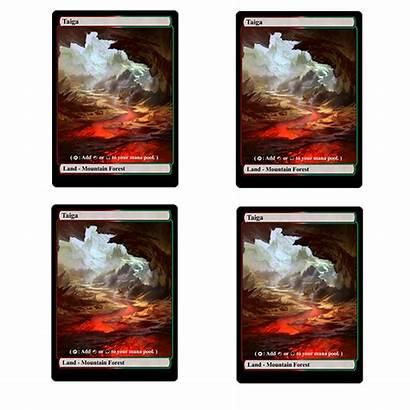 Taiga Proxy Cards Mtg Playset Token