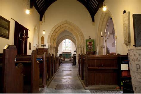 saints church pre flowers lullington