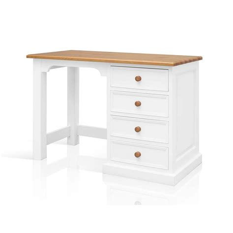 small pine computer desk harrogate white painted pine furniture small pc office