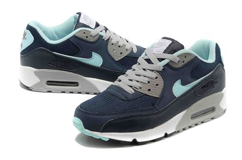 nike air max sky high durable in use air max 90 shoes in blue gray