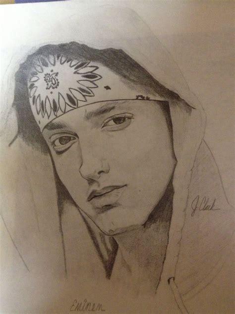 eminem  images pencil drawings