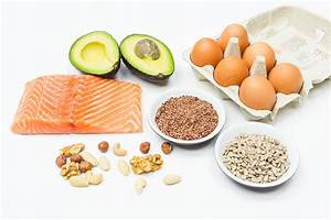 Gute fette lebensmittel