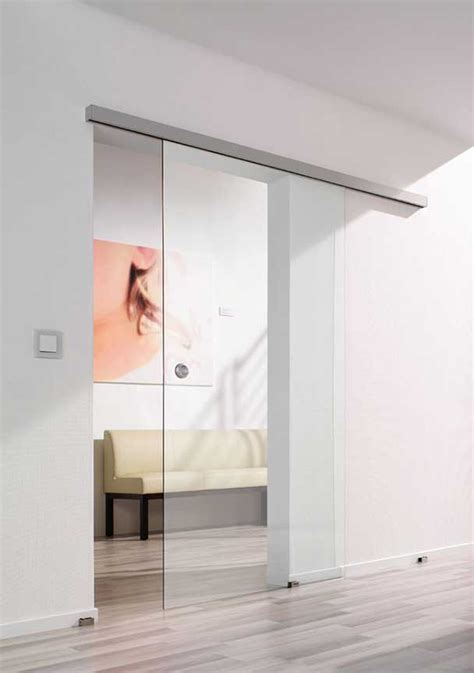 sliding frameless glass doors made to size and