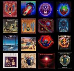 Journey Band Album Covers