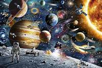lovely space wall mural Space Odyssey - Wall Mural & Photo Wallpaper - Photowall