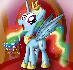 My Little Pony Friendship Is Magic Rainbow Dash Alicorn