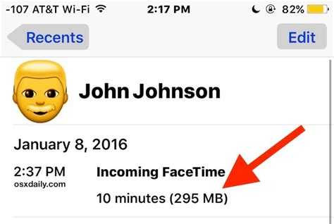 how to see how much data used on iphone see how much data a facetime call uses on iphone