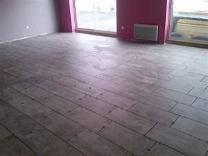 dalle et carrelage imitation parquet avec pose et joints With dalle imitation parquet