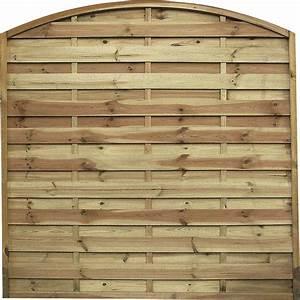 Treillis Bois Leroy Merlin : panneau bois occultant lucas cm x cm naturel ~ Melissatoandfro.com Idées de Décoration