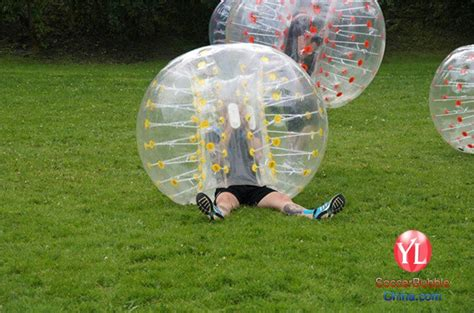colorful dot inflatable human bubble soccerbody zorbing
