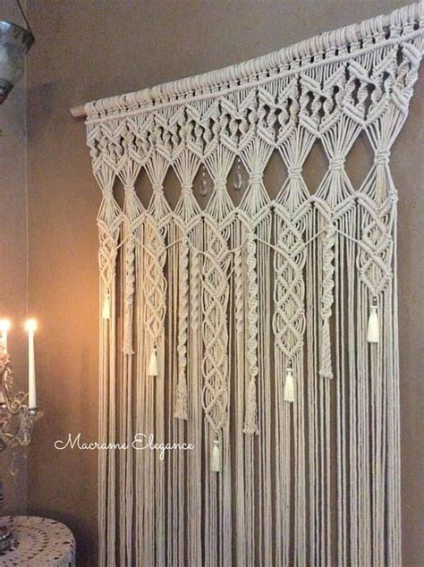 Backdrop Wall Hanging by Large Macrame Wall Hanging Macrame Wedding Backdrop