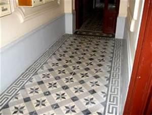carrelage hall d entree couloir carrelage d 39 entr e d With porte d entrée alu avec carreaux ciment salle de bain