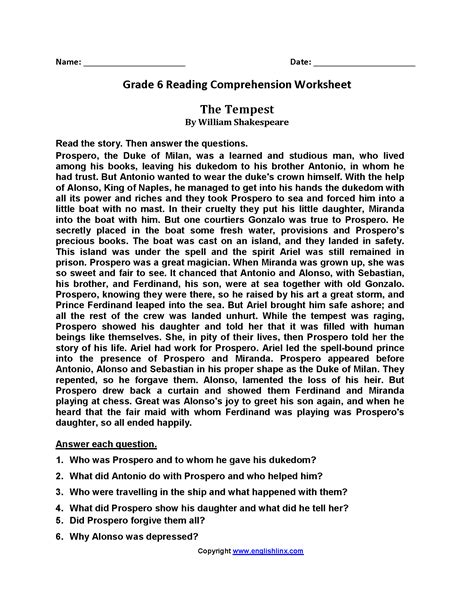 Present simple and l) build up questions and give answers: 6th grade reading comprehension pdf, multiplyillustration.com