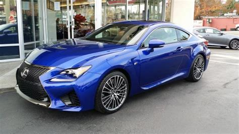 lexus rcf blue 2015 lexus rcf ultrasonic blue build thread clublexus