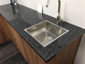 Granit Arbeitsplatte Reinigen : graniet keukenblad sc black kopen bij stonecenter ~ Indierocktalk.com Haus und Dekorationen