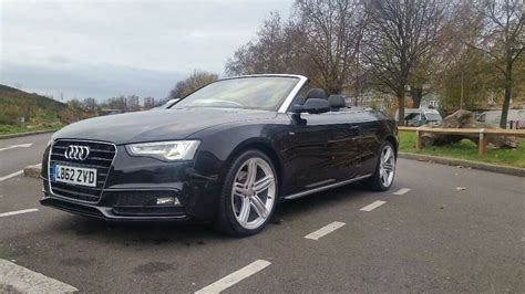 Audi Convertible Line Special Edition Black