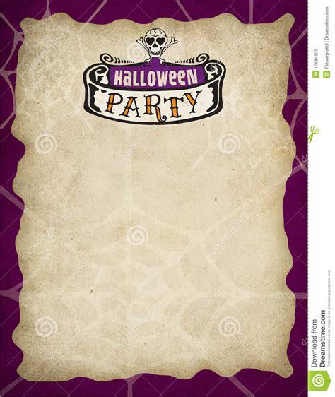 halloween invitation borders  festival collections
