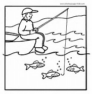 HD Wallpapers Coloring Pages Fishing Lures