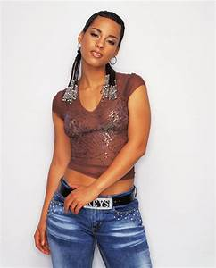 Alicia Keys Statistics Measurements Waist Hips Bust
