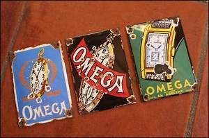 Plaques émaillées Anciennes : coin des affaires lot de 3 plaques maill es publicitaires anciennes omega ~ Medecine-chirurgie-esthetiques.com Avis de Voitures