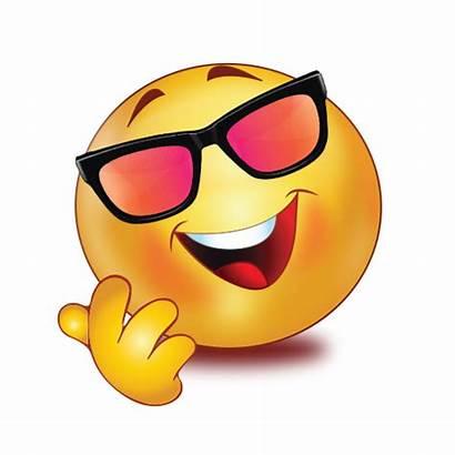 Emoji Transparent Cool Happy Stickers Background Smile