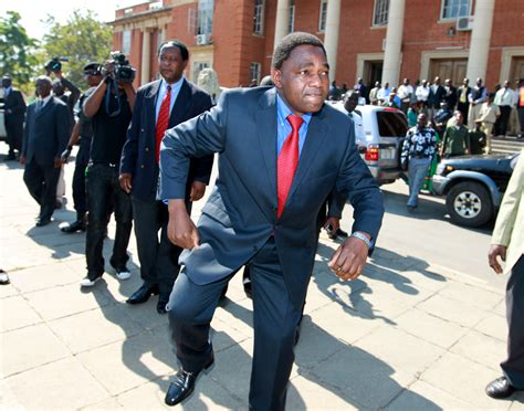 zambian opposition leader hichilema arrested released